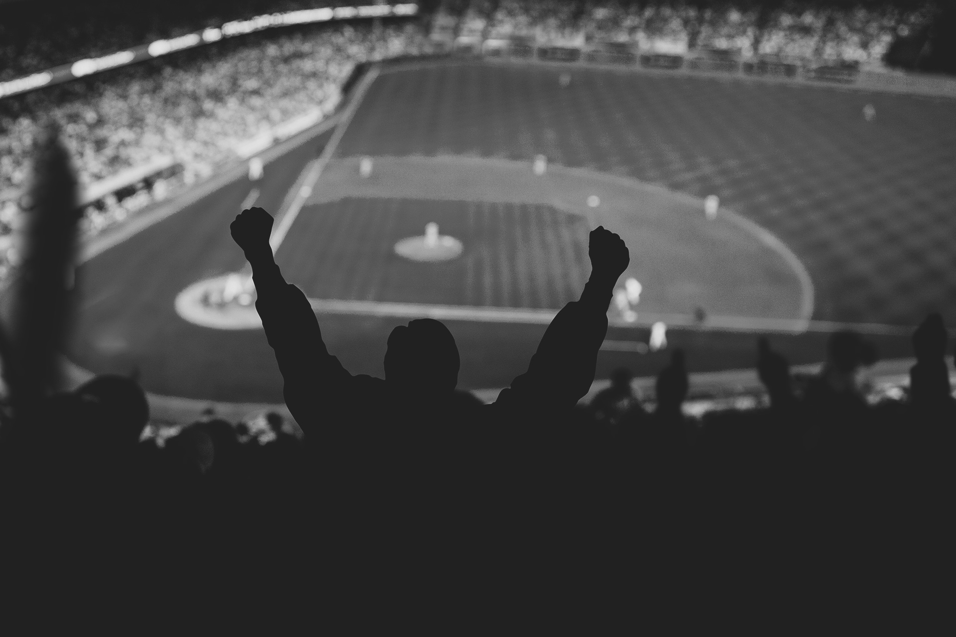 Baseball-Game-BW